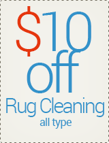 $10 off - Rug Cleaning