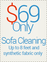 Only $69 - Sofa Cleaning